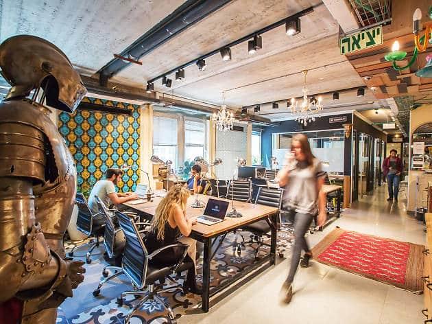 חלל עבודה משותף בתל אביב